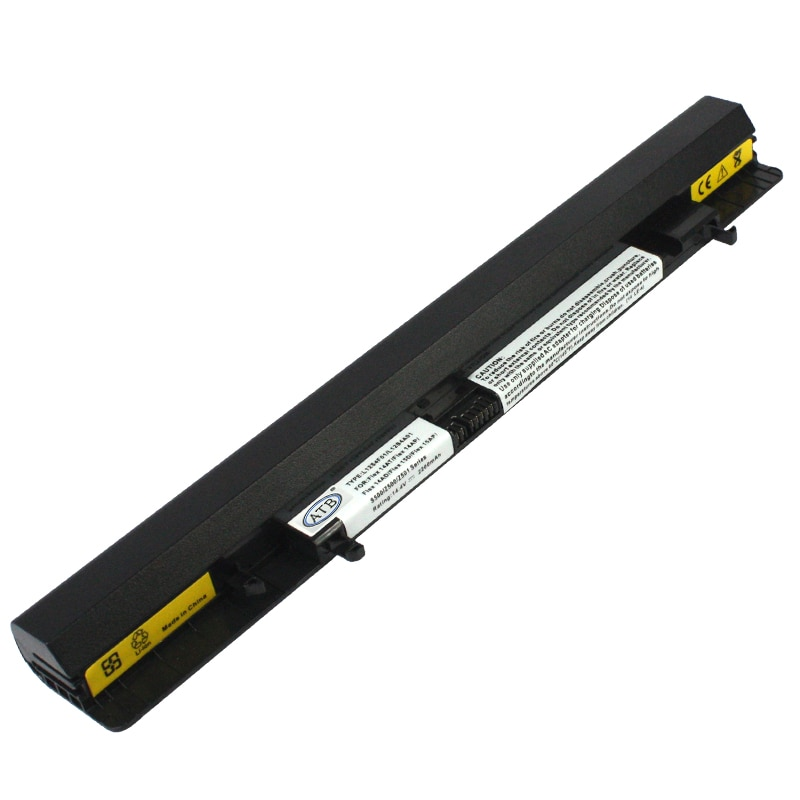 Batería para ordenador portátil para IdeaPad S500, Flex14AT, Flex14AP 14AD 15D 15AP; se adapta a P/N l12L4K51... L12S4F01... L12S4A01