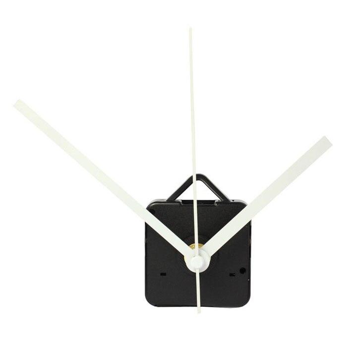 De alta calidad en silencio de pared grande reloj de cuarzo mecanismo de movimiento negro y rojo manos Kit de reparación de herramienta con gancho Saat 2019 nuevo
