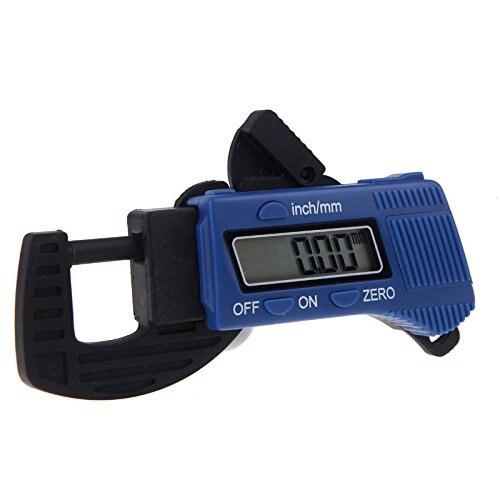 Calibrador de grosor exterior Digital THGS calibre de fibra de carbono 0-12,7mm