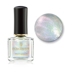 BORN PRETTY Pearl Glimmer Top Coat 6ml Glitter Nail Polish varnish Varnish 3-in-1 Water Based Base Top Coat