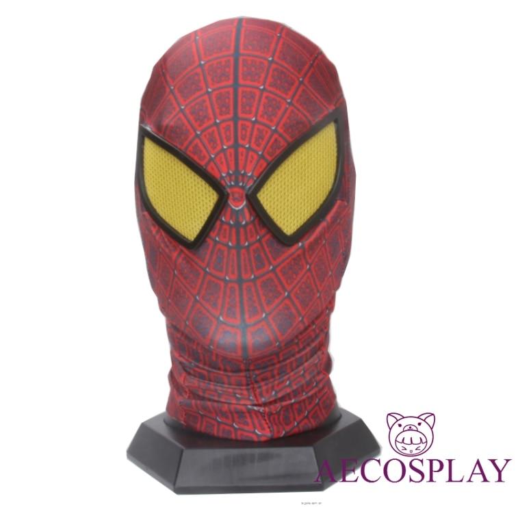 Homem aranha máscara capa homem aranha máscara halloween máscara assustador cosplay mascaras halloween party avengers carnaval traje adulto homem
