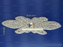 Fashion Handmade sew on Rhinestone Patches for Clothing rhinestone applique 10pieces/lot Very Shiny bayern munich