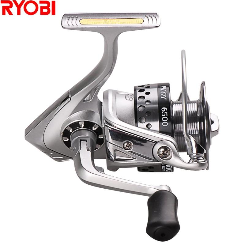 100% ryobi navigator 6 + 1bb molinete de pesca molinete piche carretel carpa carretel carretilha carretilhas de pesca carretilhas