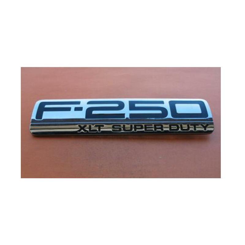 ABS plástico F-250 F250 XLT F-250XLT F250XLT Super Duty coche pegatina Emblema insignia Emblema