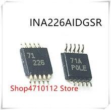 Nouveau, 10 pièces/lot, marquage ina226aigs INA226AID INA226 226 MSOP-10 IC