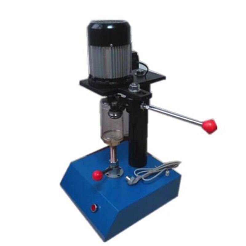 علبة من القَصدير الكهربائية آلة السد PET يمكن ختم آلة علب من الصفيح غطاء آلة الضغط