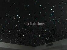 Lumière de nuit de la salle de nuit, kit de lumière en fiber optique pour le bar bricolage, changement de couleur RGB,