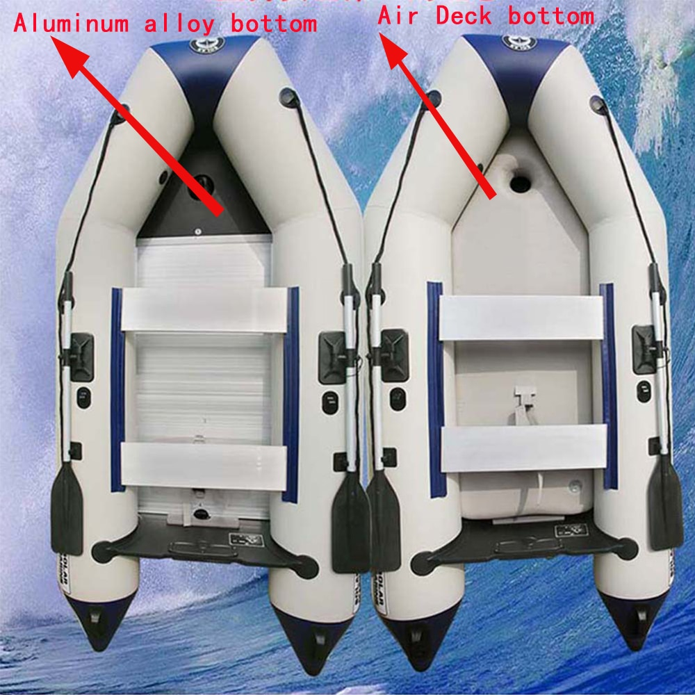 Anti-collision thicked 4M PVC Boat 7 person inflatable boat laminated for Drifting Rubber fishing boat support dropshipping
