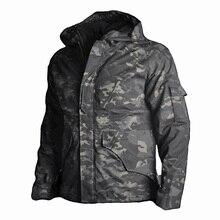 2019 nouveau Sport équipement extérieur veste Camouflage chasse vêtements hommes tactique militaire uniforme coupe-vent garder au chaud coupe-vent