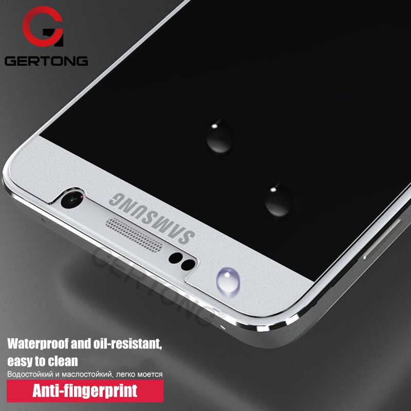 GerTong Protector de pantalla de vidrio templado para Samsung Galaxy S3 S4 S5 S6 Xcover3 A5 A3 2017 A7 J3 J5 2015 J7 templado cubierta de película