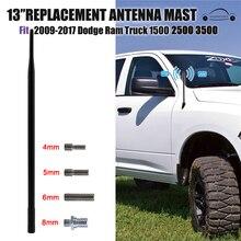 13 pouces noir caoutchouc autoradio AM FM antenne Signal amplificateur pour Dodge Ram 1500 2500 3500 2009-2017