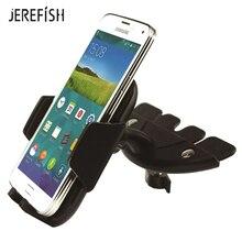 Jerefish CD Slot Voiture Intelligente support gps téléphone Pour iPhone X 7 Universelle 360 Degrés Rotation support De Téléphone support pour samsung Note 8