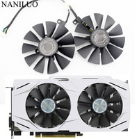 2 шт. 87 мм охлаждающий вентилятор для графической карты ASUS DUAL GeForce GTX1060-O6G PLD09210S12HH DC12V 0.40A