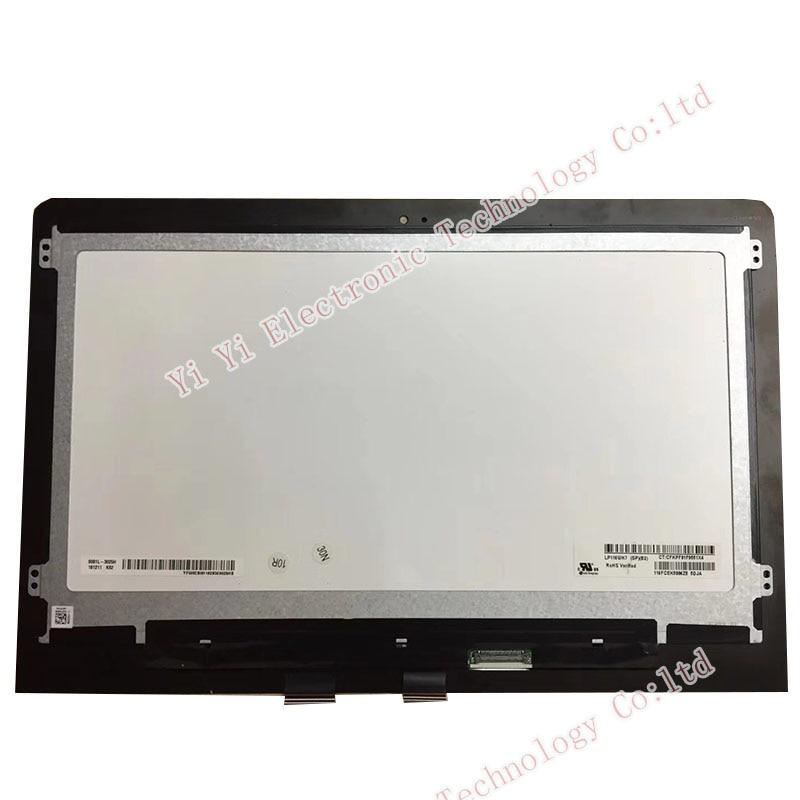 Бесплатная доставка 11,6 дюймов для HP 11-AD 11m-ad серии ЖК-экран панель с сенсорным экраном LP116WH7-SPB2 подходит nv116whm-n45