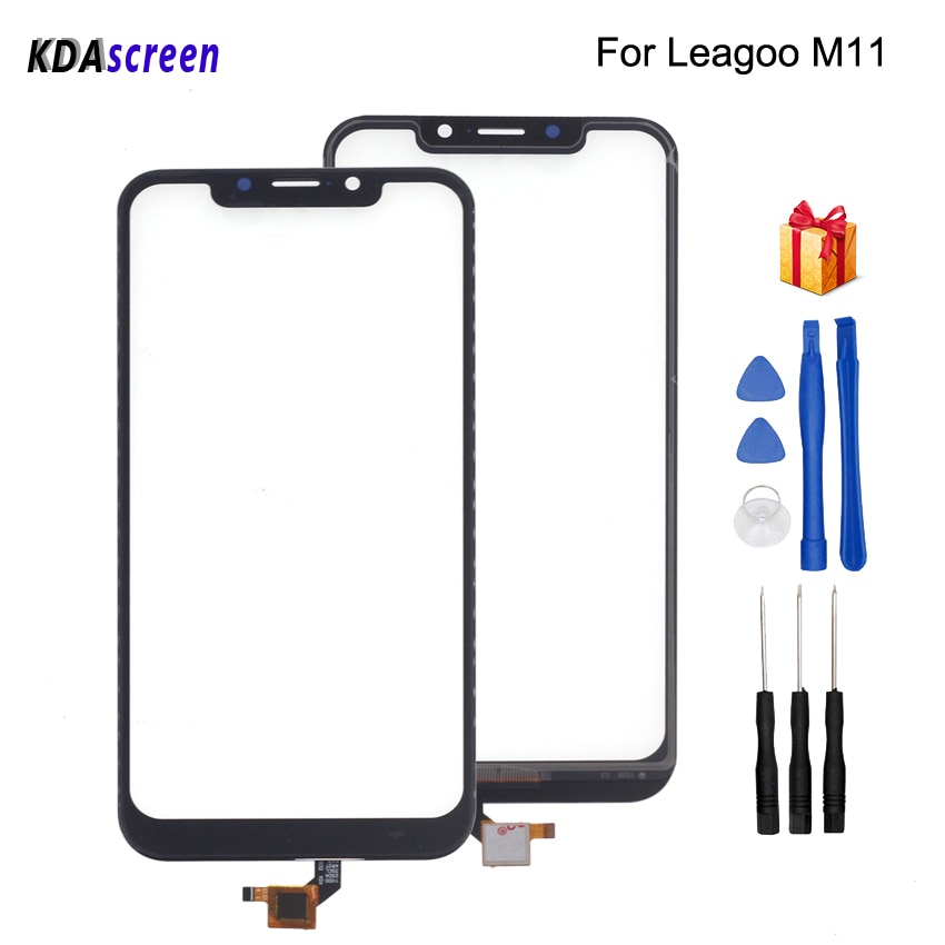 For Leagoo M11 Touch Screen Glass Panel Replacement For Leagoo M11 Phone Parts With Free Tools