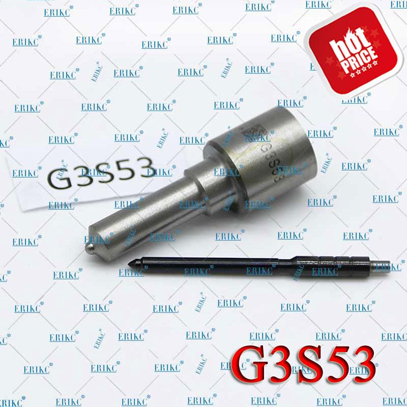 ERIKC G3S53 común inyector para riel de combustible Diesel G3S53 de Spray de inyección para PULVERIZADOR DE Injektor G3 5296723