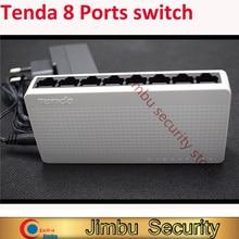 Conmutador de red Tenda, 8 puertos, 10/100Mbps, Ethernet rápido, núcleo Lan RJ45, MDI, intercambio dúplex completo/medio tenda