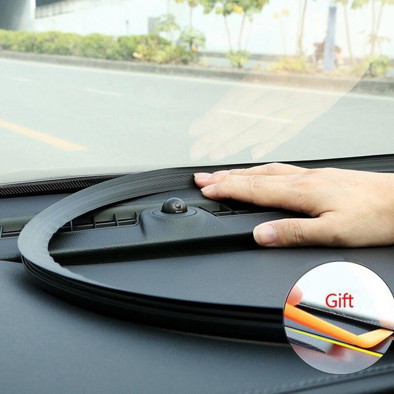 Sello de goma insonorizado para coche, tira de sellado, pegatina de estilo para Audi A4 A3 Mercedes Benz W211 W204 W212 BMW E39 E46 E60