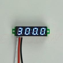 GWUNW BY428V 0.28 pouce 4 bits Micro voltmètre DC 0-500 V (500 V) testeur de tension