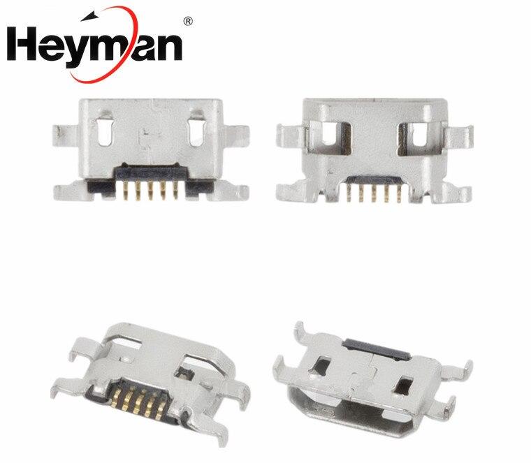 Connecteur de Charge pour Alcatel One Touch 4015 4032 4033 5050X 5050Y 6012 6012D 6035R 7050Y Pop S9 (5 broches, micro USB type-b)