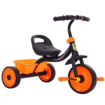 Baby Walker Tricycle Riding Toys Children Three Wheel Balance Bike Scooter Portable Bike No Foot Pedal Bicycle Baby Walker Car