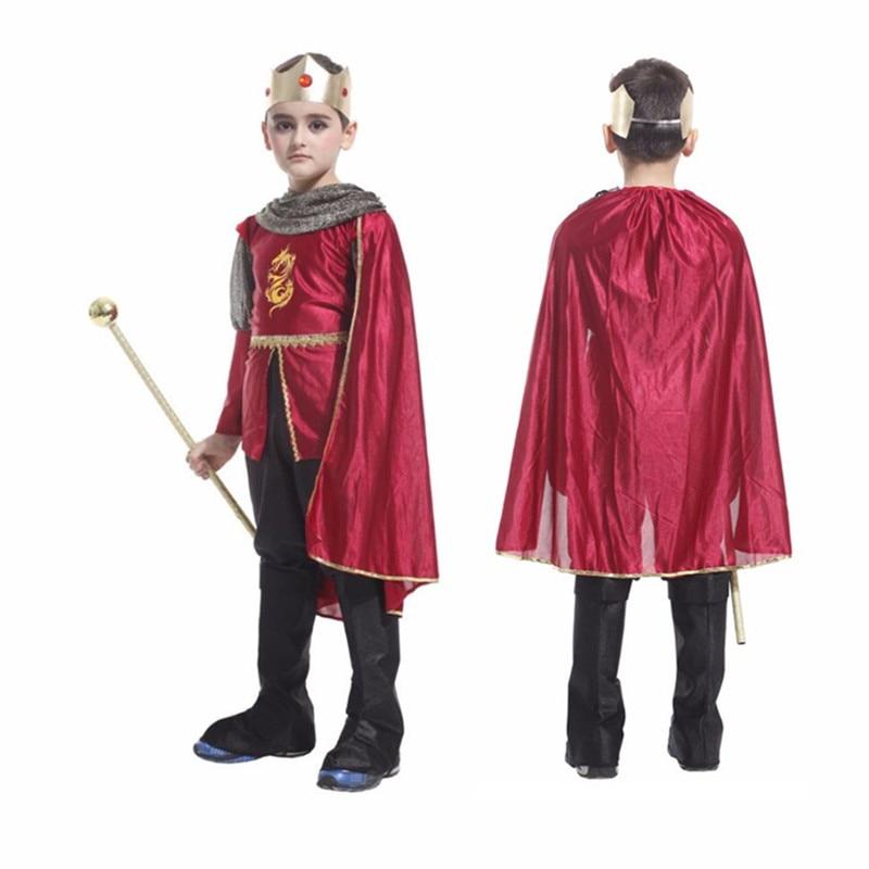 Roma antiga rei príncipe trajes crianças cosplay traje guerreiro romano crianças soldado romano meninos halloween cosplay roupas
