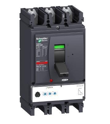 Disyuntor compacto LV432893 NSX630N, 50 kA at 415 VAC, Micrologic 2,3 unidad de viaje 630 A, 3 polos 3d