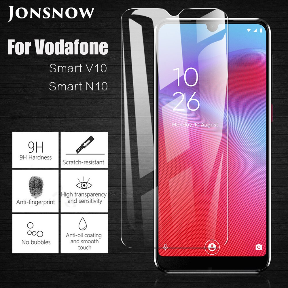 JONSNOW Tempered Glass For Vodafone Smart V10 VFD730 9H Protective Film Screen Protector for Vodafone Smart N10 VFD630
