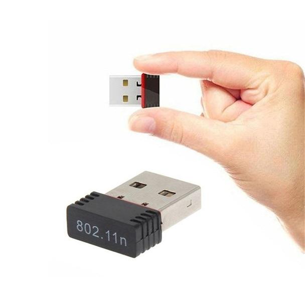 Hiperdeal Nova Alta Mini USB 2.0 802.11n 150 Mbps Adaptador de Rede Wi-fi para Windows Linux PC Dropshipping YE1.16