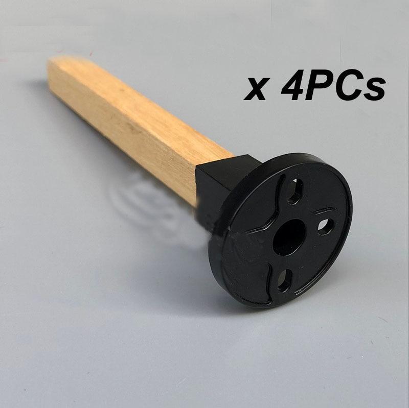 4 Uds RC DIY modelo de montaje de motor Simple con 10x10mm palo de madera para XXD Sunnysky 2208 2212 2216 clase sin escobillas FPV