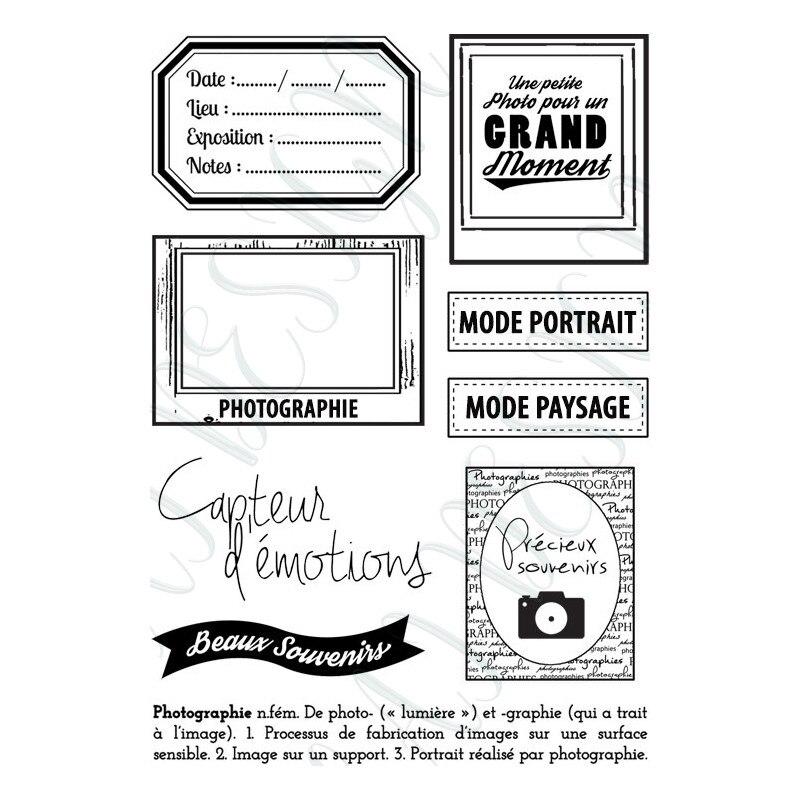 Französisch worte Klare Stempel für Scrapbooking Transparent Silikon Gummi DIY Fotoalbum Decor 966