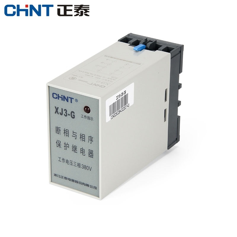 CHINT XJ3-G AC380V seqüência e on-off relé de proteção proteção de sobretensão e subtensão proteção da seqüência de fase