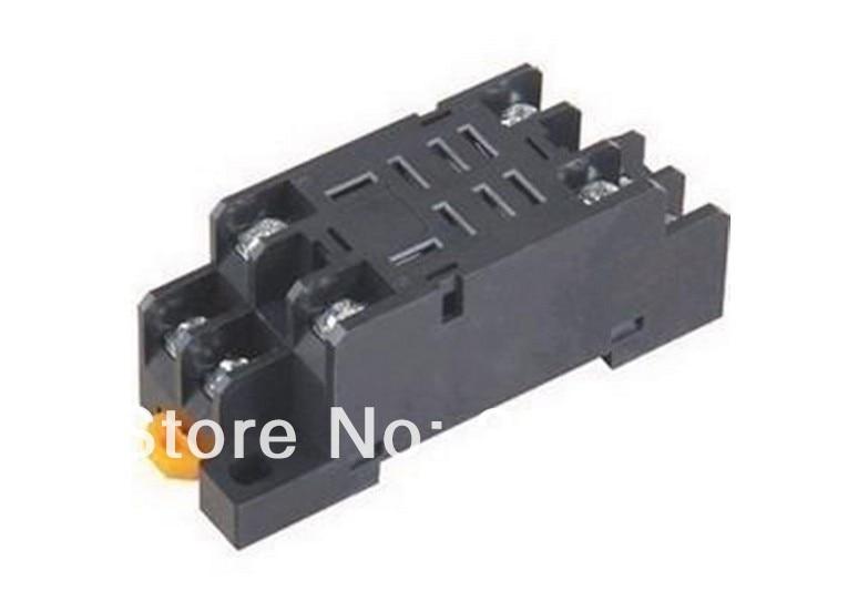 10 pcs PTF08A Mini Relay Socket Base Para Power Relay ly2nj