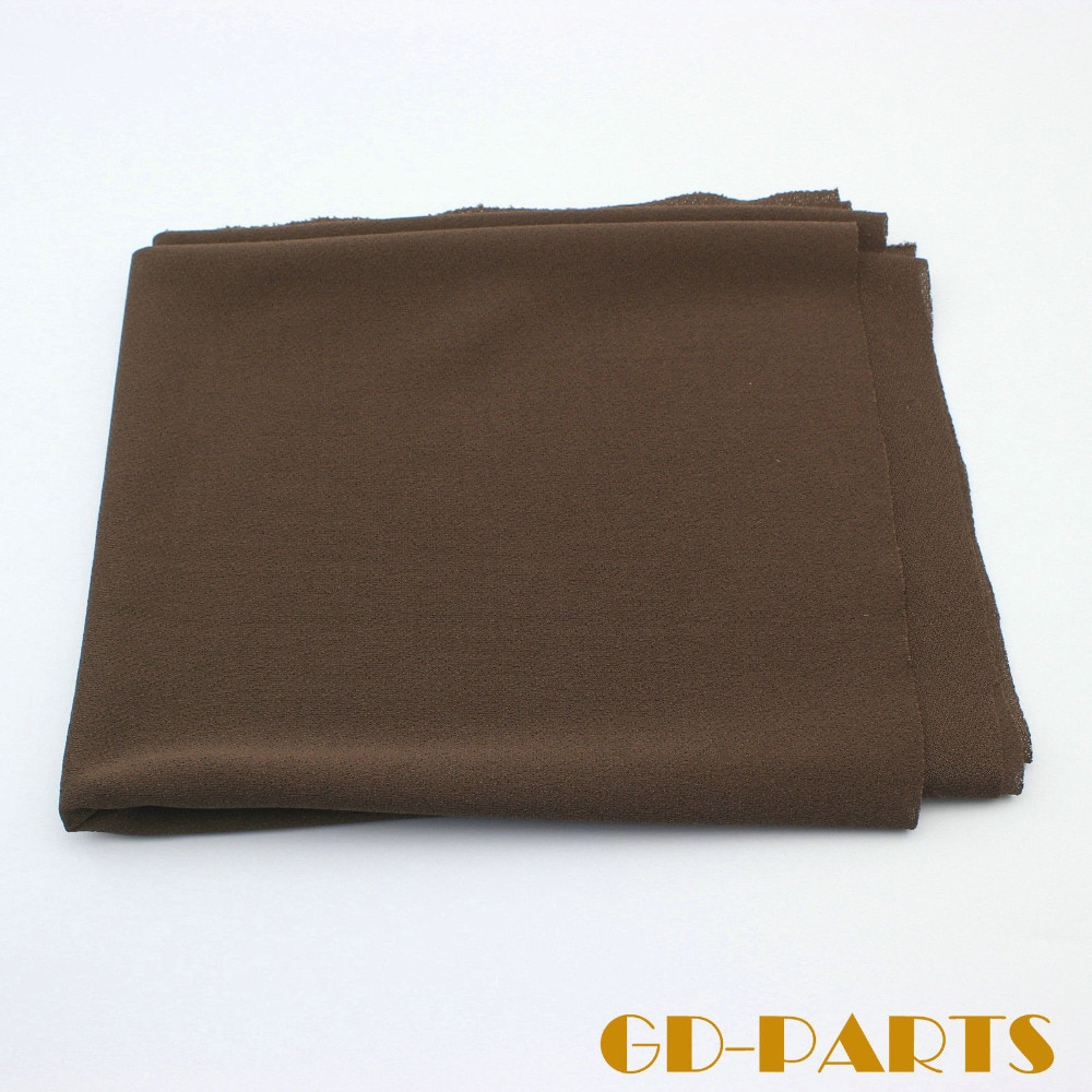 Акустическая ткань для гриля коричневого цвета, пылезащищенная ткань, гитарный усилитель, динамик, передняя панель шкафа, 0.5x1, 8 м/лот
