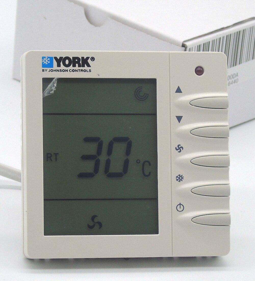 York 2-termostato da sala da bobina do fã da tubulação com quente fresco