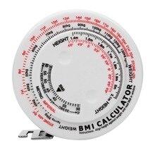 NICEYARD 150cm ruban rétractable pour régime perte de poids ruban mesures outils imc masse corporelle indice mesure calculatrice cadeau