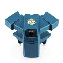 ELECALL EGVS3 compteur de sol Laser infrarouge 90 degrés instrument de mesure à angle droit mètre de niveau au sol mesure de mise à la terre