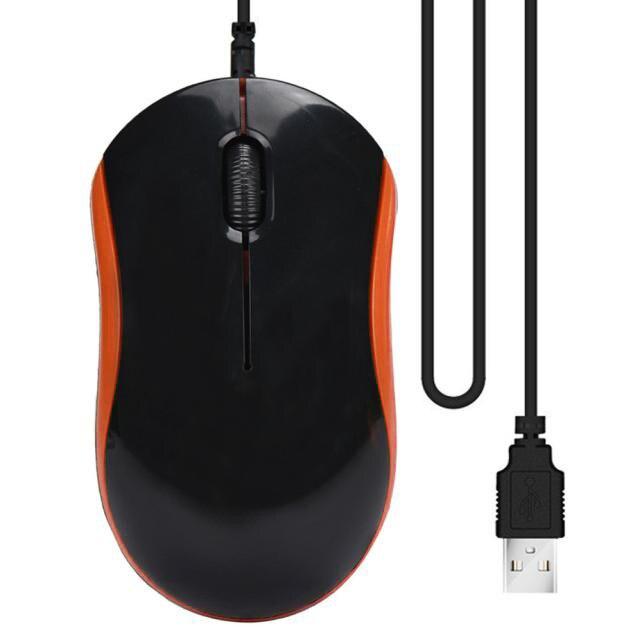Оптическая USB светодиодный Проводная игровая мышь офисные Мыши для ПК ноутбука 6A30 Прямая поставка