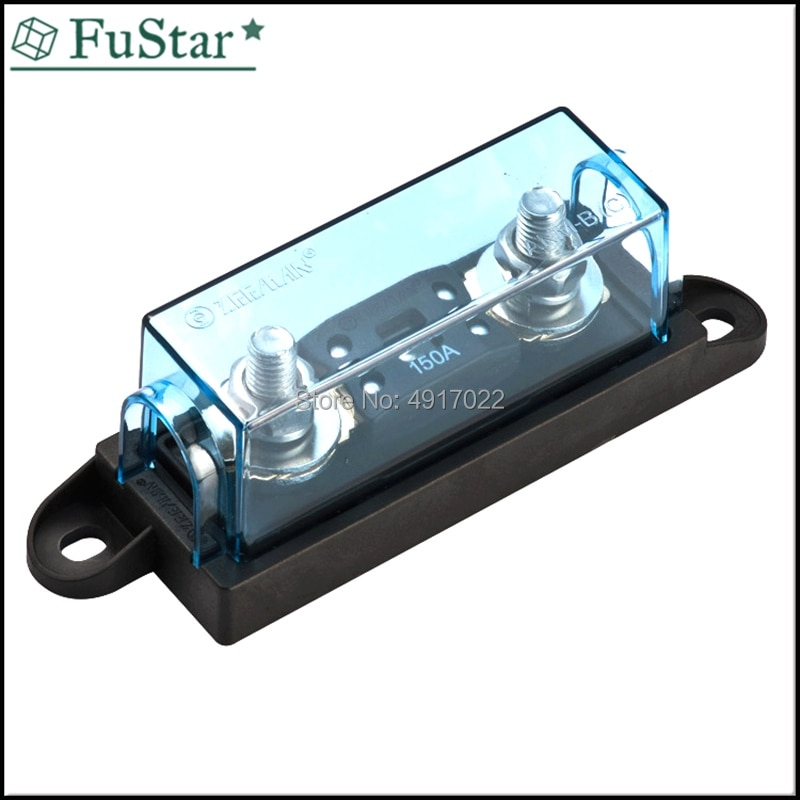 1 Uds ANM-H fusible automático titular/portafusibles de cuchilla/perno-Soporte fusible (fusible no incluido) ANM-B caliente nuevo