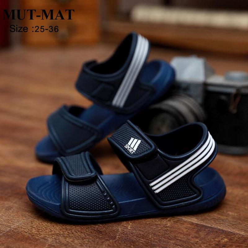 Crianças sandálias moda meninos e meninas antiderrapante verão praia sandálias resistente ao desgaste e multi-cor sapatos