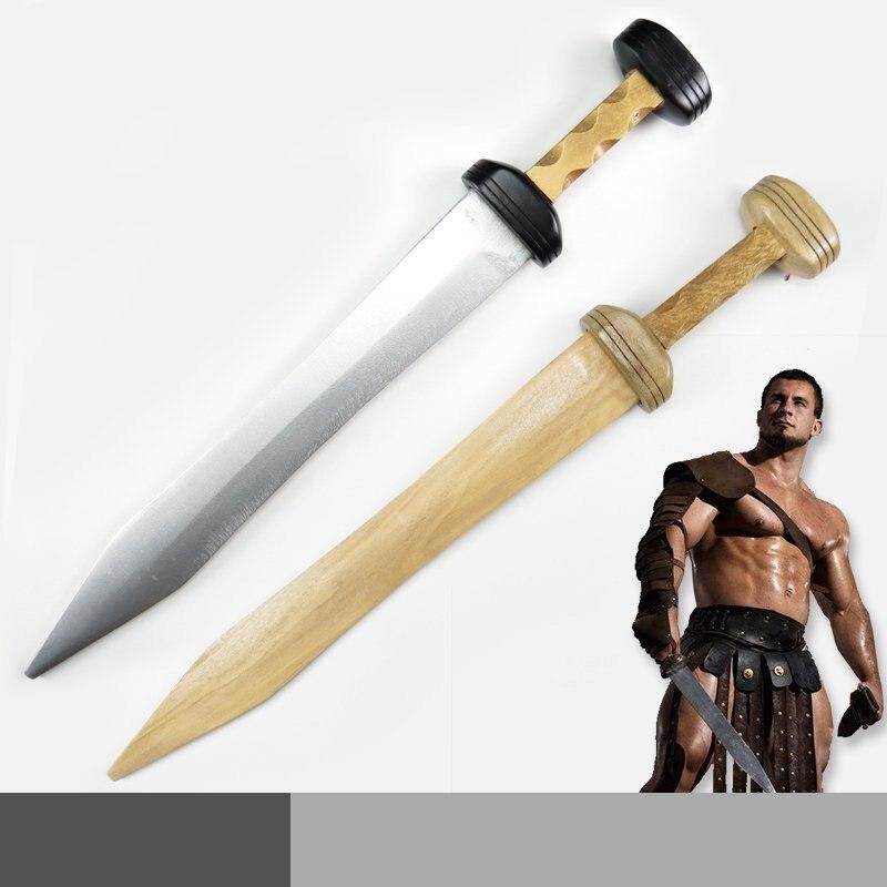 Glaïeul romain épée en bois Cosplay épée armes accessoires de Cosplay
