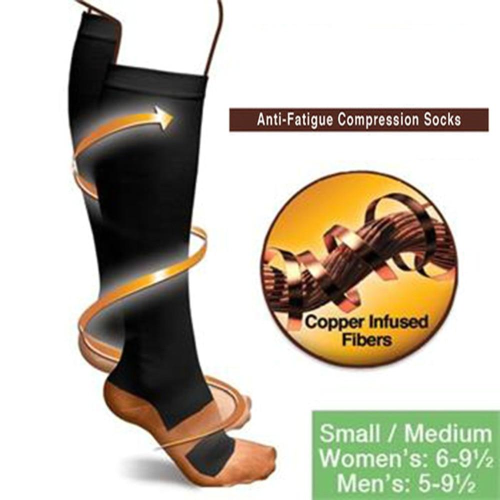 Компрессионные носки с защитой от усталости, мягкие носки унисекс с защитой от боли в ногах, Гольфы с опорой