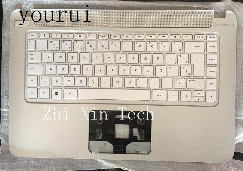 Оригинальный чехол yourui для HP Pavilion 14z-V 14-V304TX V048TX V049TX C с клавиатурой США 767264-201 767264-001