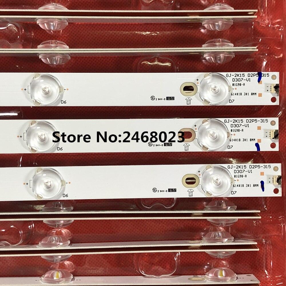 """3 uds retroiluminación LED 7 lámpara para PH ILIPS así que ny 32 """"TV 32pft550 1/60 KDL-32R330D LB32080 E465853 HV320FHB-N00 TPT315B5-WHBN0.K"""