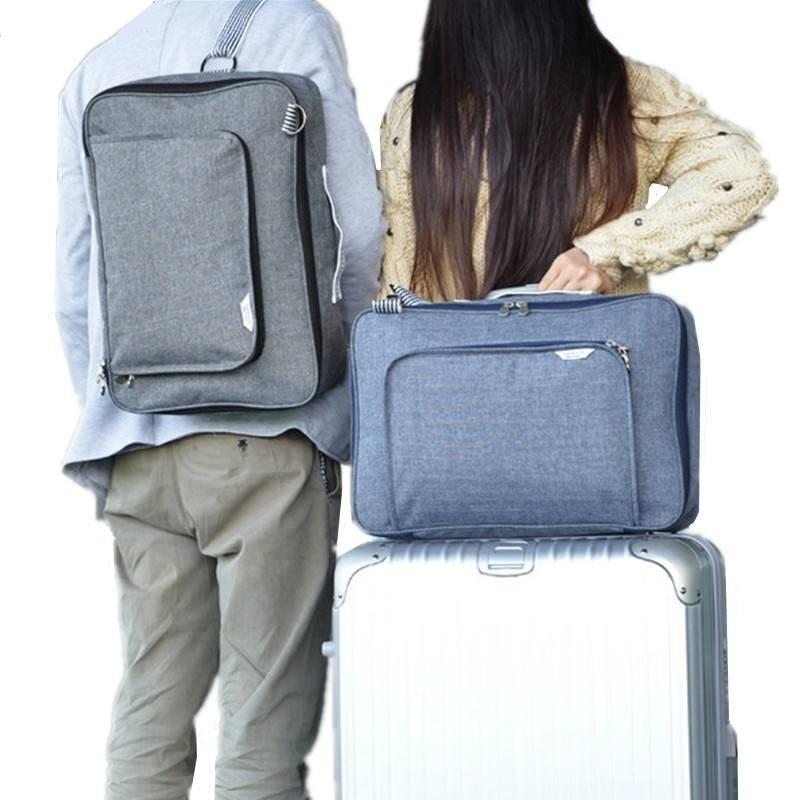 HHYUKIMI diseñador Unisex de moda de gran capacidad Trolley bolsa de viaje para maleta equipaje bolsa de hombro de equipaje impermeable