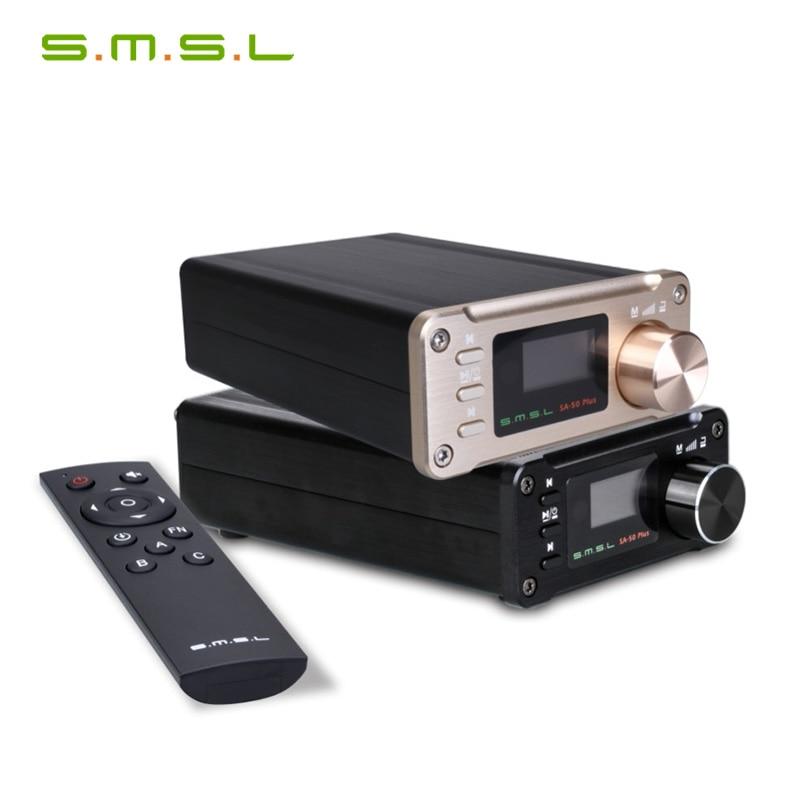 SMSL SA-50 más SA50 AUX USB Mini 50W * 2 amplificador Digital