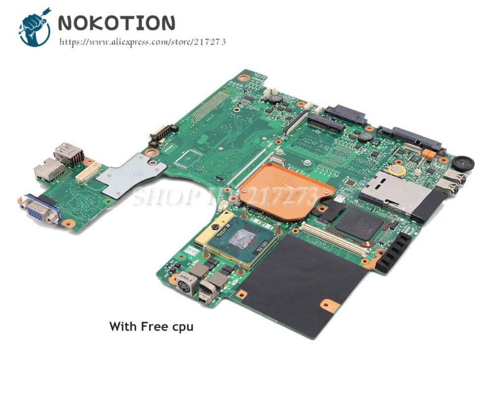 NOKOTION Pour Toshiba satellite A100 A105 Ordinateur Portable Carte Mère 945GM DDR2 cpu Gratuit V000069060 V000069110 V000068510 V000068770
