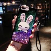 cute glitter diamond phone case for iphone 7 case for iphone x 7 6 6s 8 plus case cover xs max xr 8plus 7plus coque fundas