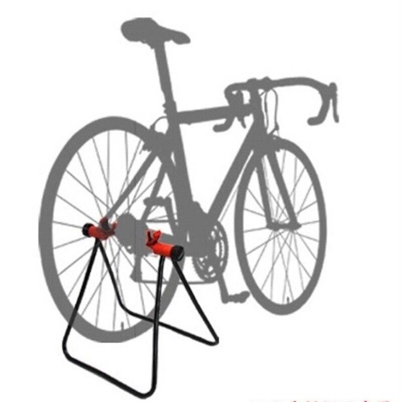 Mountainbike Rennrad Dreieck Vertikale Stand Display Rad Hub Bike Reparatur Stand Ständer Für Fahrrad Reparatur Boden Stehen