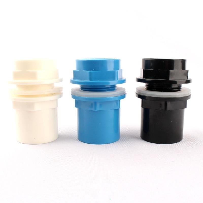 50 мм прочная сливная труба ПВХ соединители для труб уплотненный дренажный соединитель для аквариума для орошения водопроводные трубы быстроразъемные фитинги